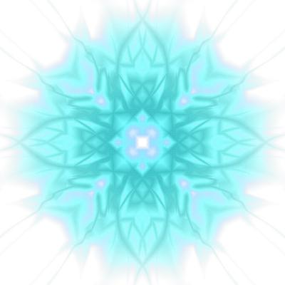 bluewhite heart